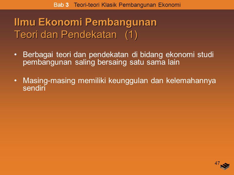 Ilmu Ekonomi Pembangunan Teori dan Pendekatan (1)