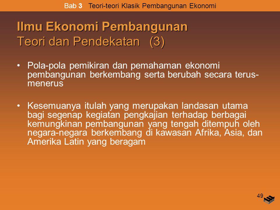 Ilmu Ekonomi Pembangunan Teori dan Pendekatan (3)