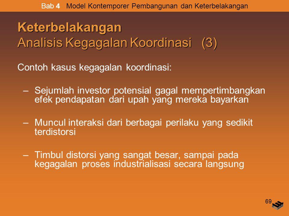 Keterbelakangan Analisis Kegagalan Koordinasi (3)