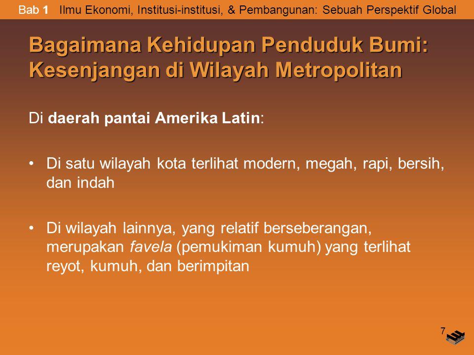 Bagaimana Kehidupan Penduduk Bumi: Kesenjangan di Wilayah Metropolitan