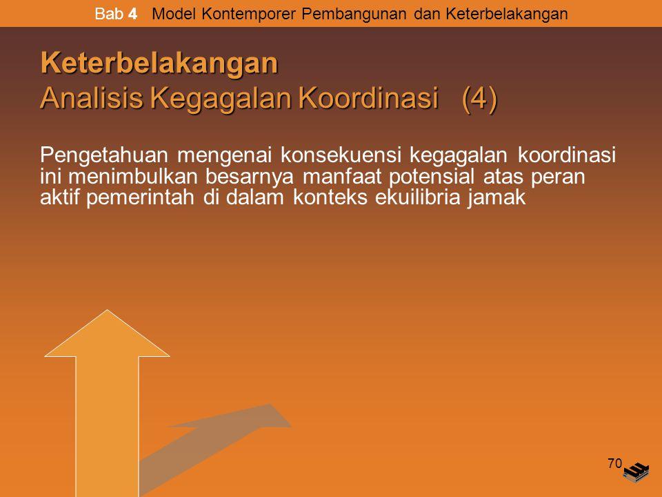 Keterbelakangan Analisis Kegagalan Koordinasi (4)