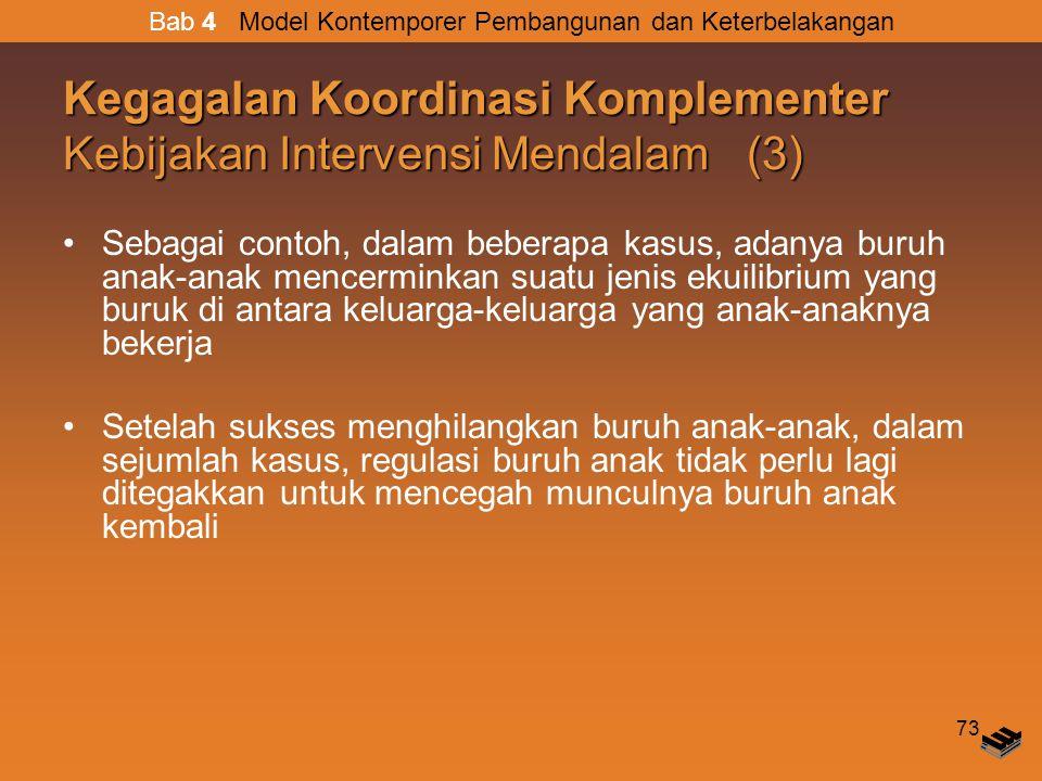 Kegagalan Koordinasi Komplementer Kebijakan Intervensi Mendalam (3)