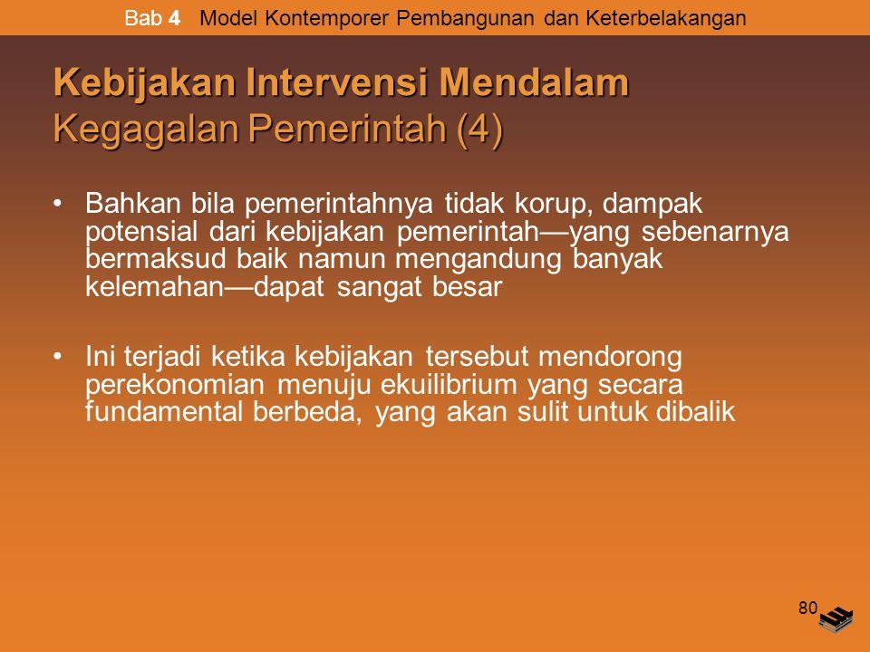 Kebijakan Intervensi Mendalam Kegagalan Pemerintah (4)