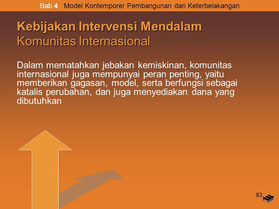 Kebijakan Intervensi Mendalam Komunitas Internasional
