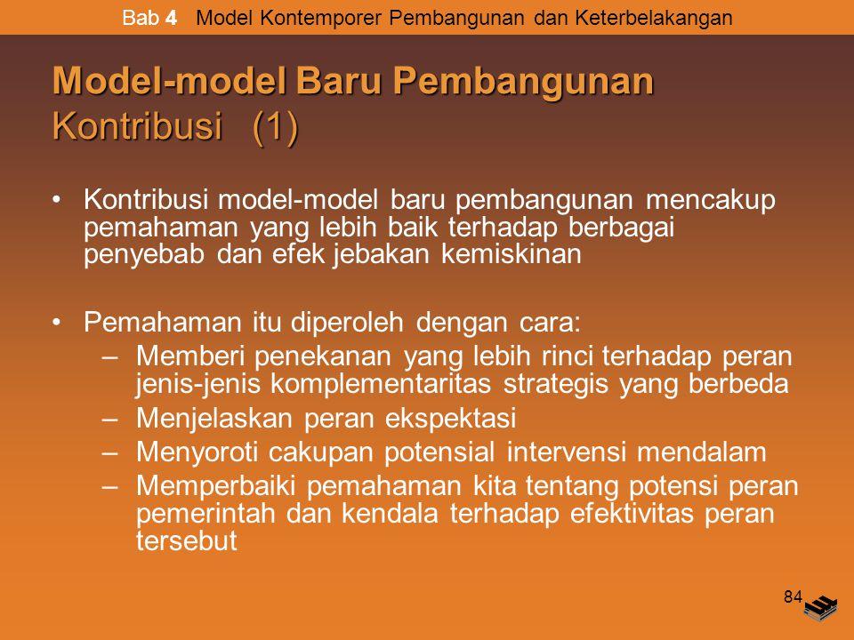 Model-model Baru Pembangunan Kontribusi (1)