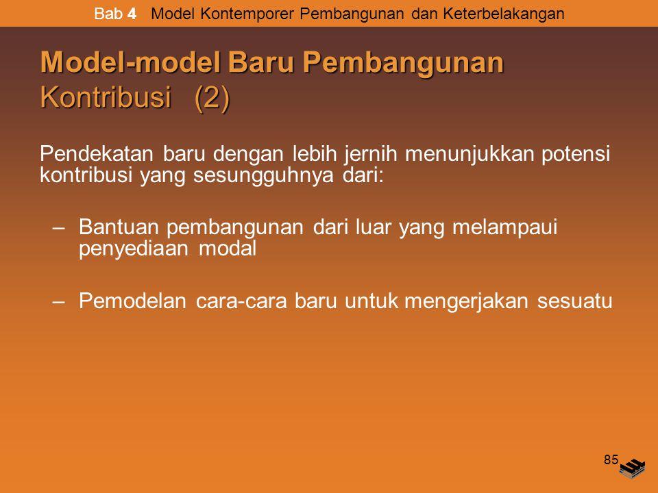 Model-model Baru Pembangunan Kontribusi (2)