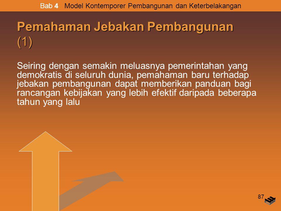 Pemahaman Jebakan Pembangunan (1)