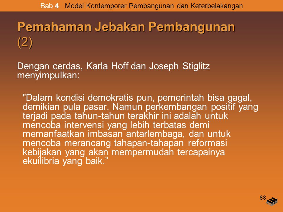 Pemahaman Jebakan Pembangunan (2)
