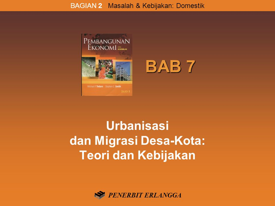 Urbanisasi dan Migrasi Desa-Kota: Teori dan Kebijakan