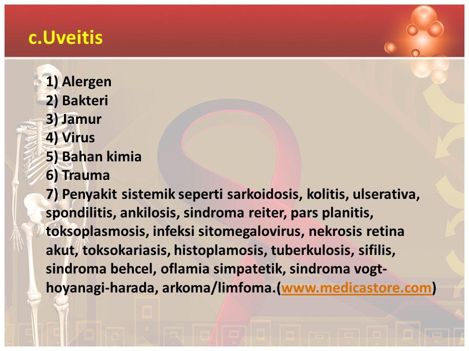 c.Uveitis