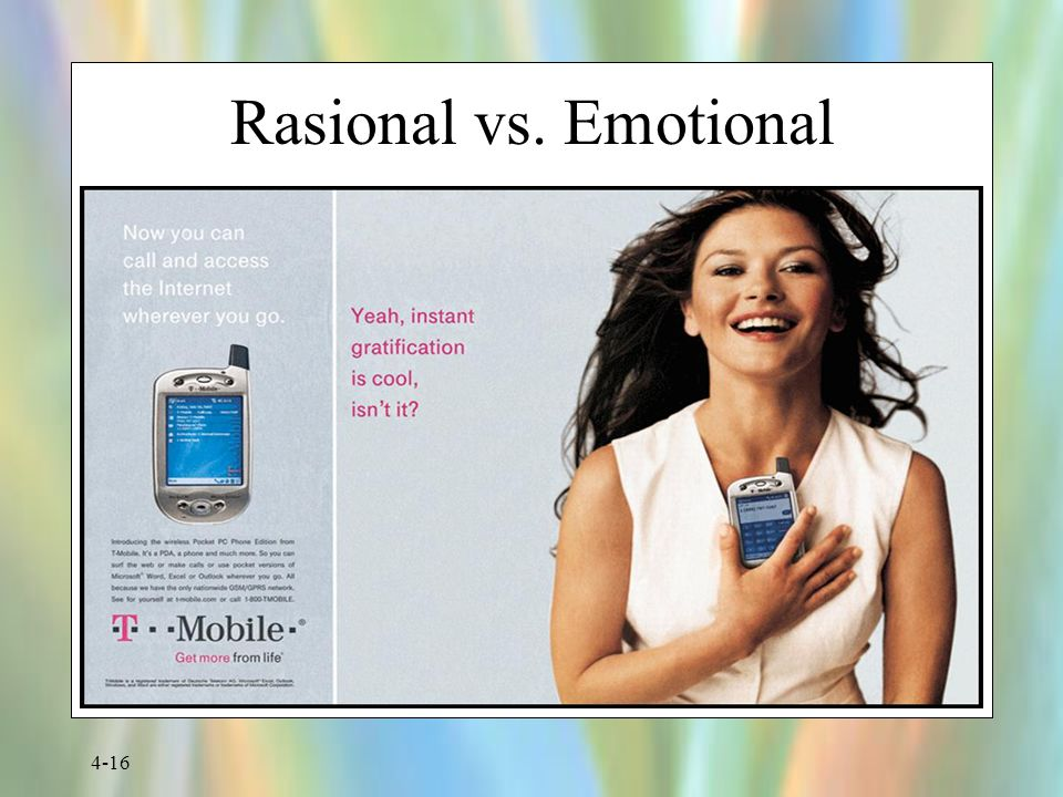 Rasional vs. Emotional