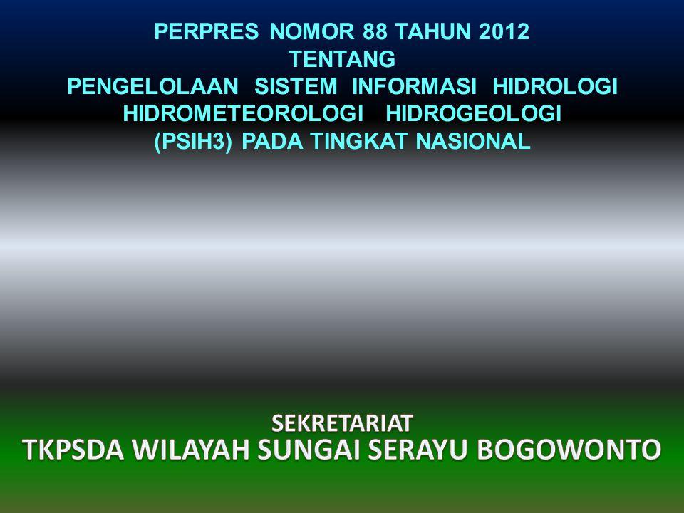 TKPSDA WILAYAH SUNGAI SERAYU BOGOWONTO