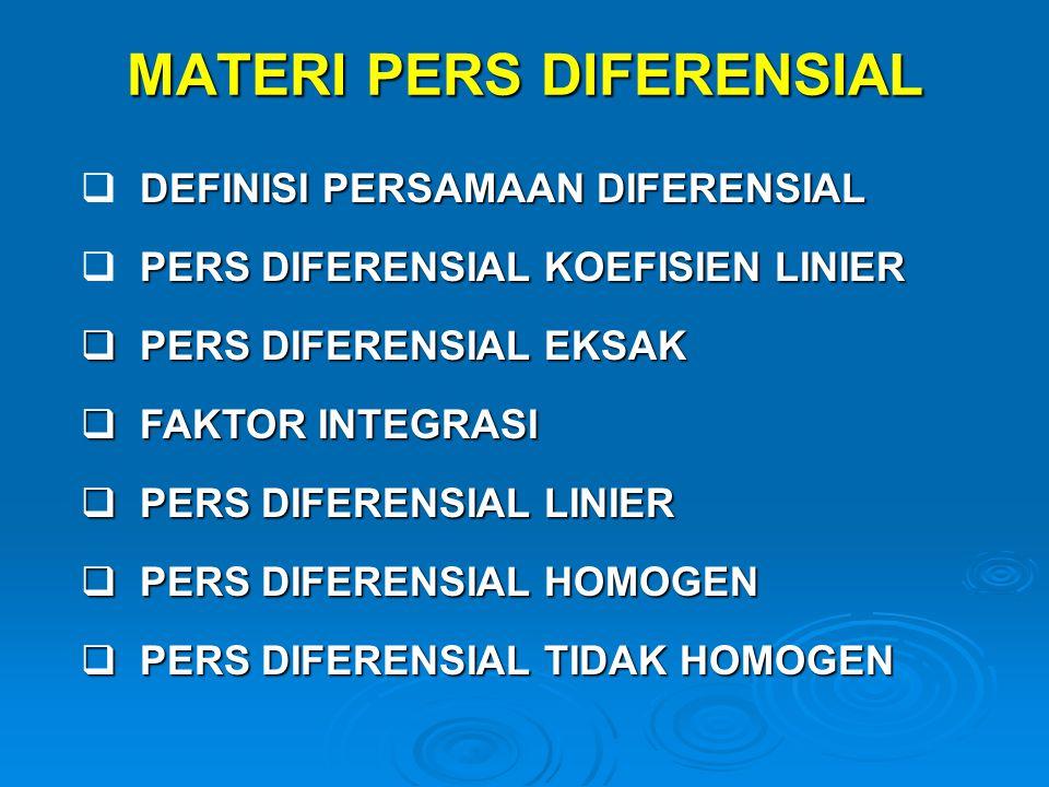 MATERI PERS DIFERENSIAL