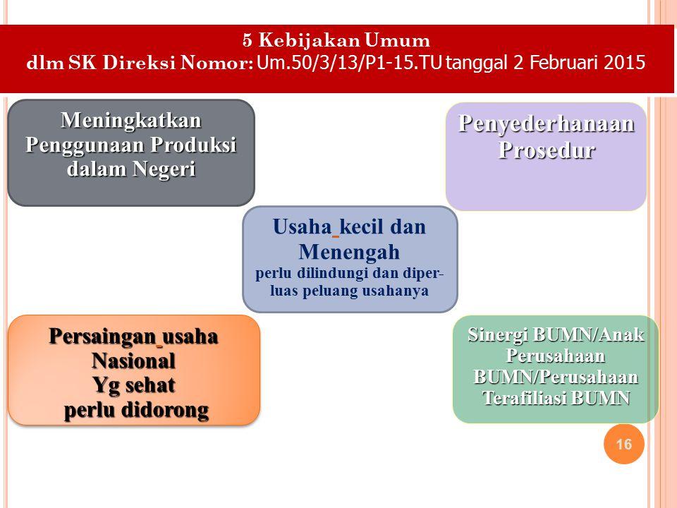 Penyederhanaan Prosedur