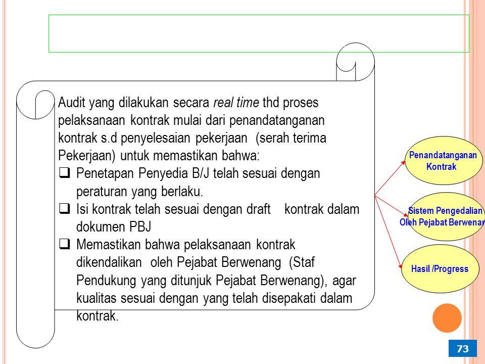 Penetapan Penyedia B/J telah sesuai dengan peraturan yang berlaku.
