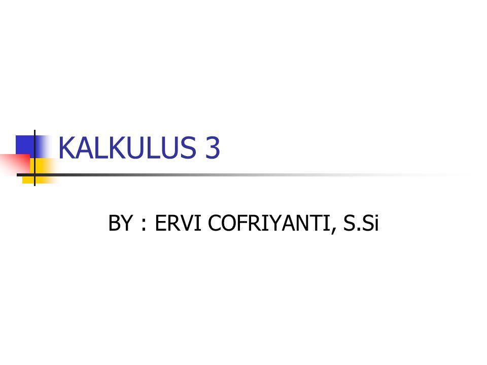 BY : ERVI COFRIYANTI, S.Si