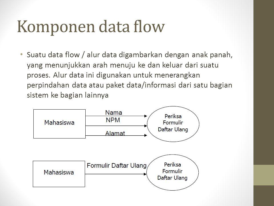 Komponen data flow