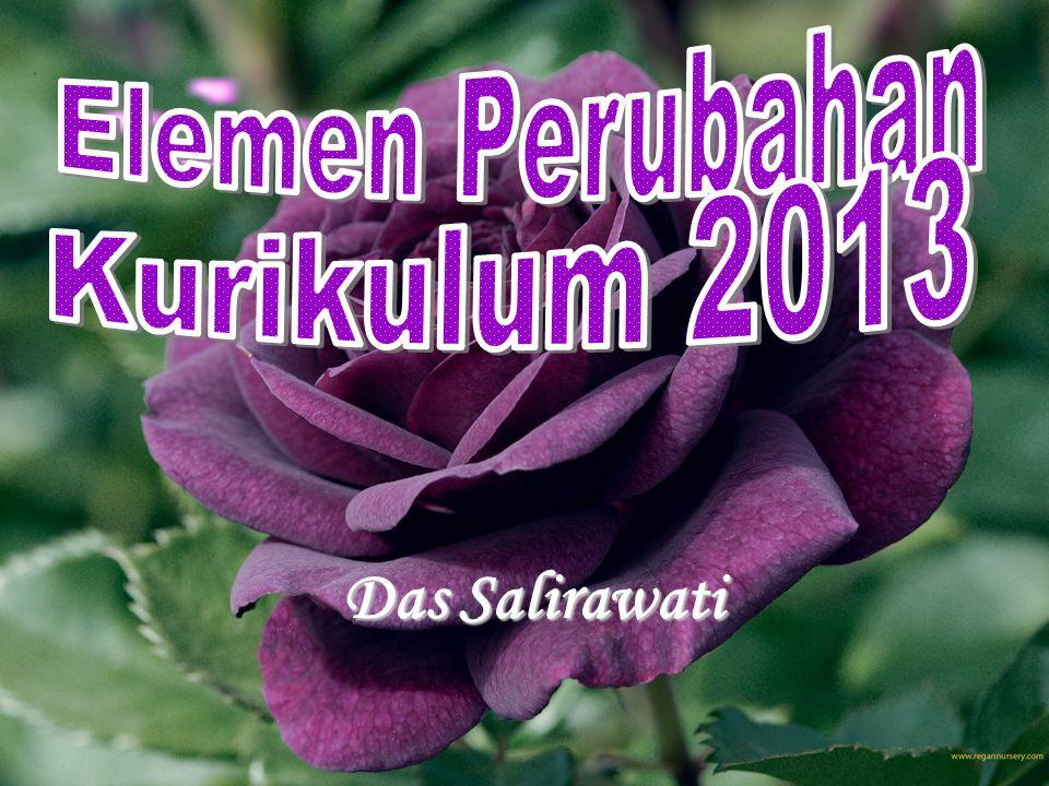 Elemen Perubahan Kurikulum 2013 Das Salirawati