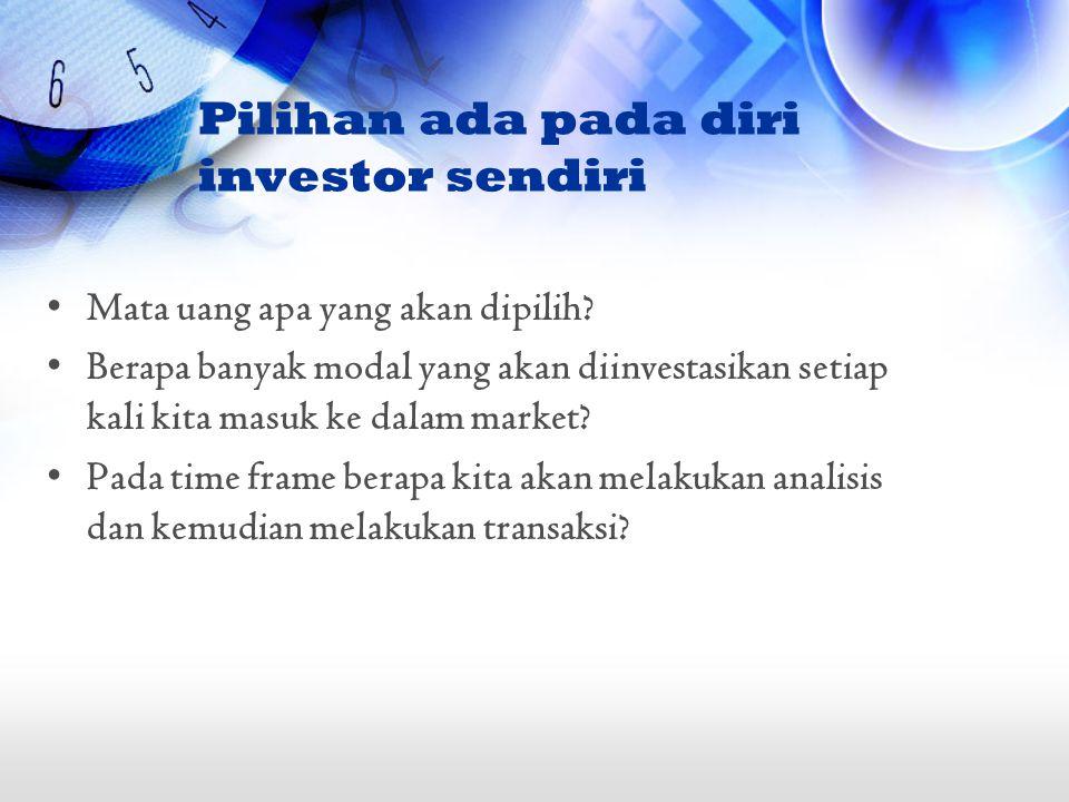 Pilihan ada pada diri investor sendiri