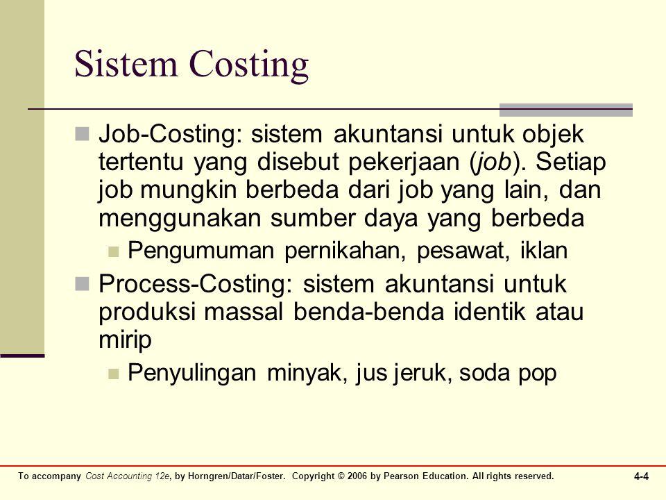 Sistem Costing