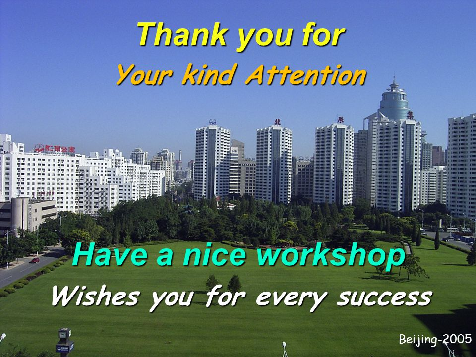 Wishes you for every success