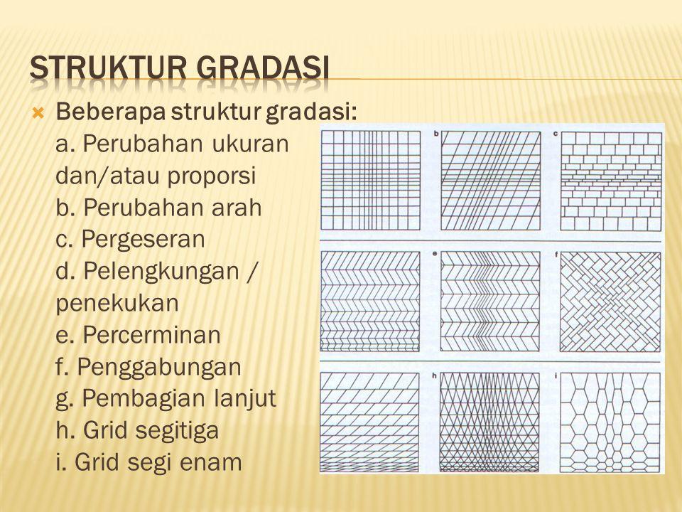 Struktur gradasi