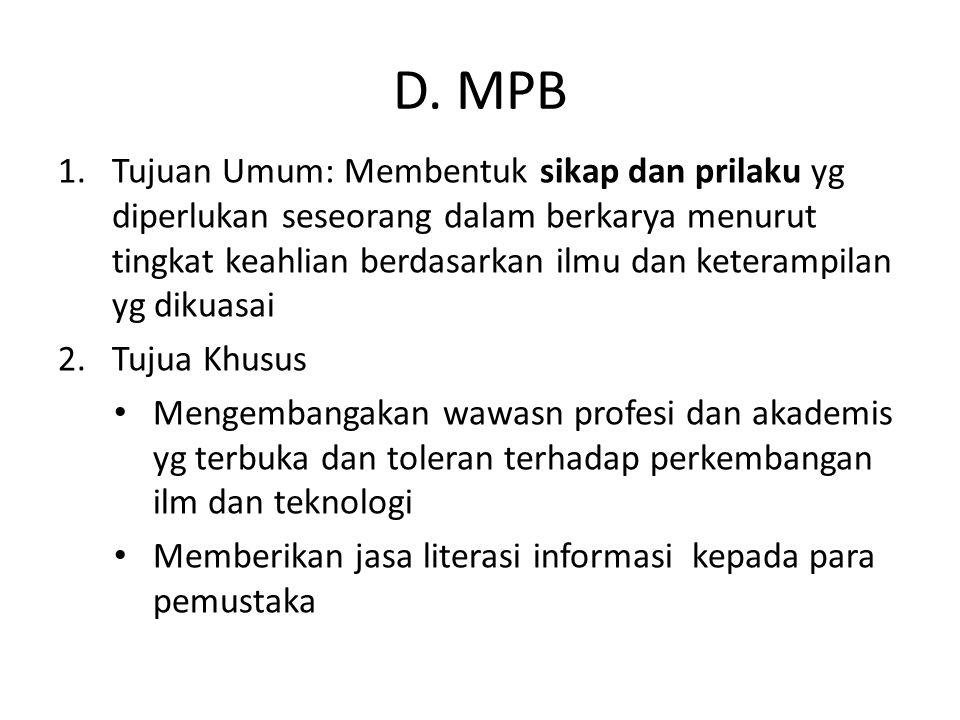 D. MPB