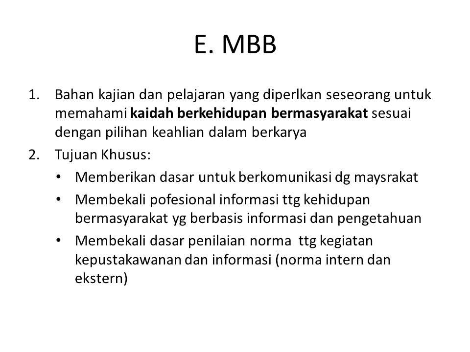 E. MBB