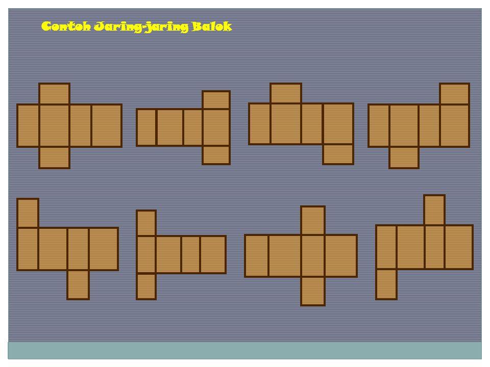Contoh Jaring-jaring Balok