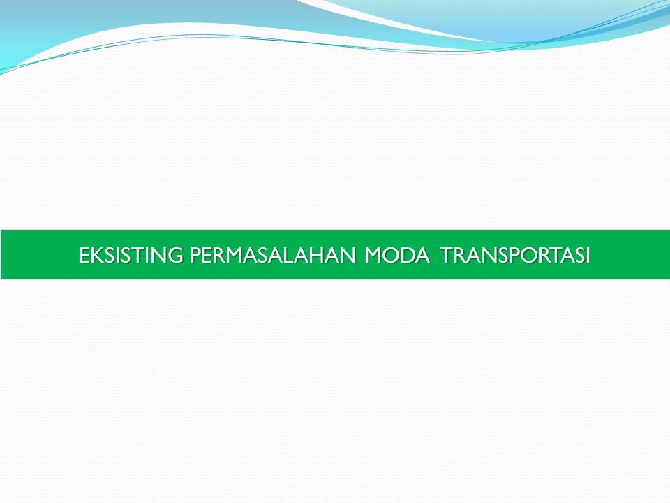 EKSISTING PERMASALAHAN MODA TRANSPORTASI
