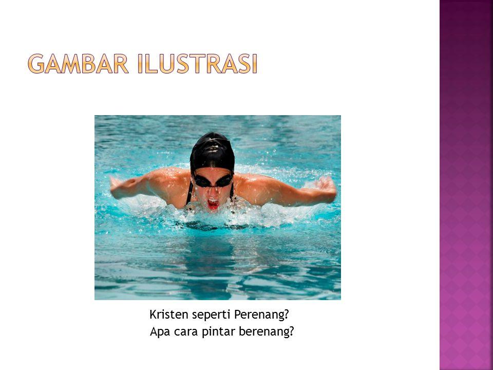 Apa cara pintar berenang