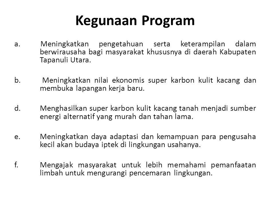 Kegunaan Program