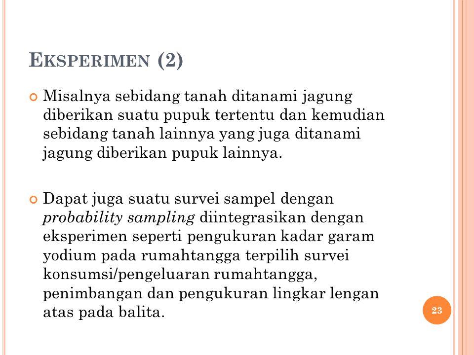Eksperimen (2)