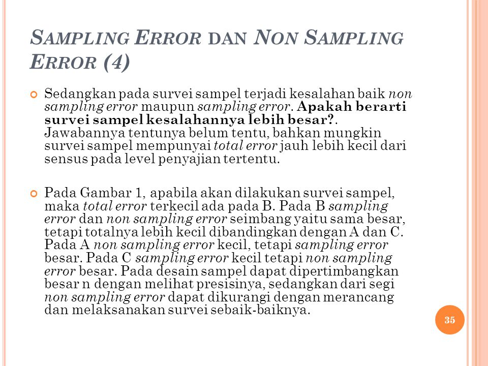 Sampling Error dan Non Sampling Error (4)