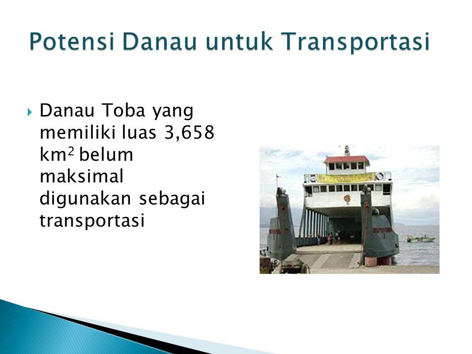 Potensi Danau untuk Transportasi