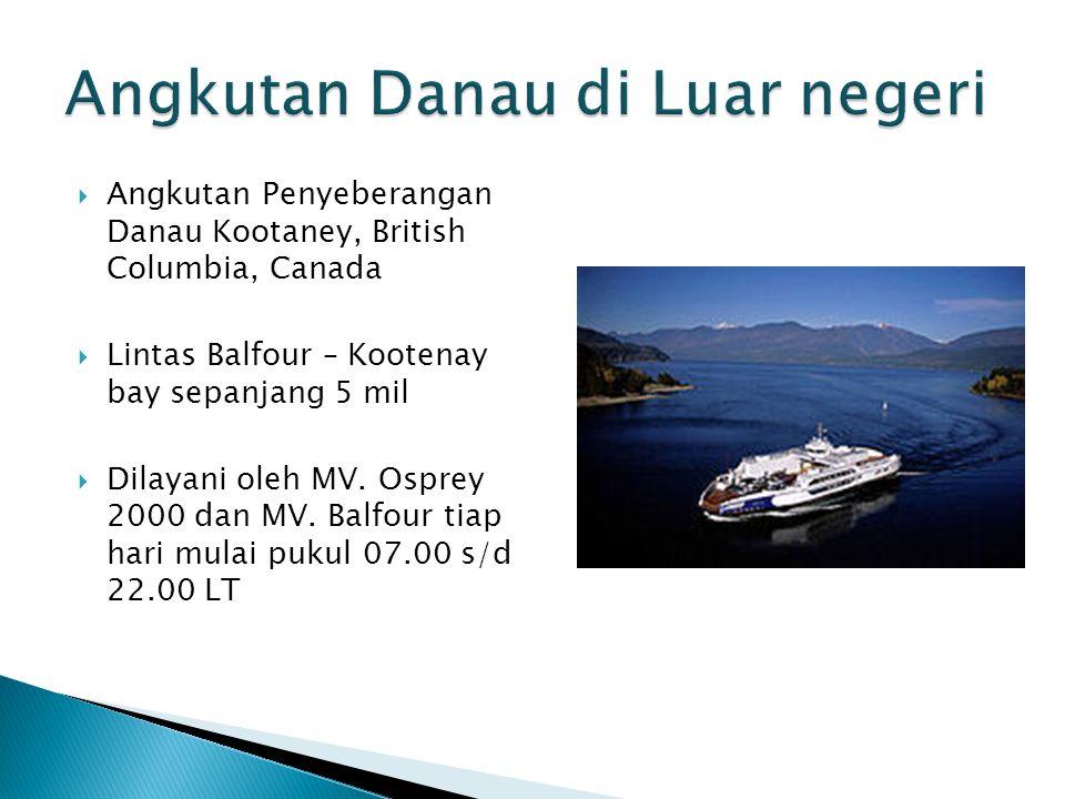 Angkutan Danau di Luar negeri