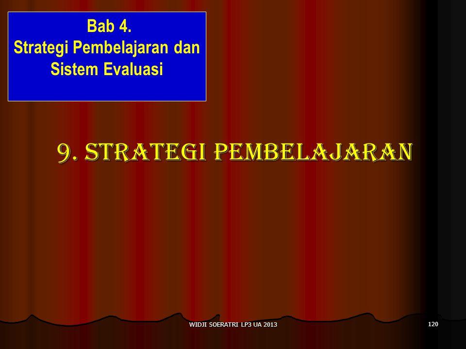 9. STRATEGI PEMBELAJARAN