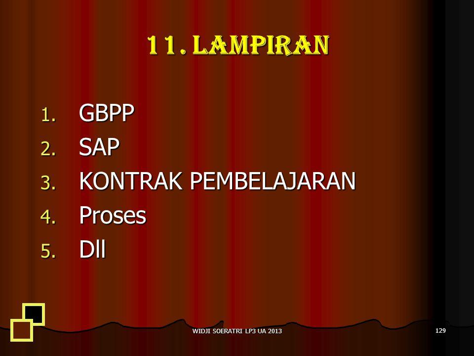 11. LAMPIRAN GBPP SAP KONTRAK PEMBELAJARAN Proses Dll