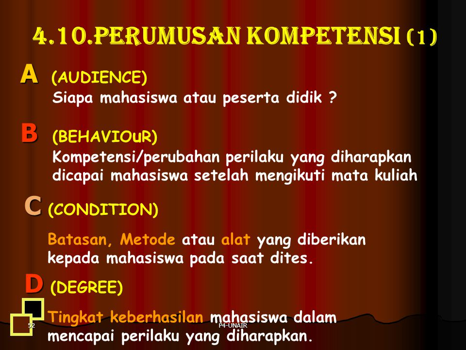 4.10.PERUMUSAN KOMPETENSI (1)