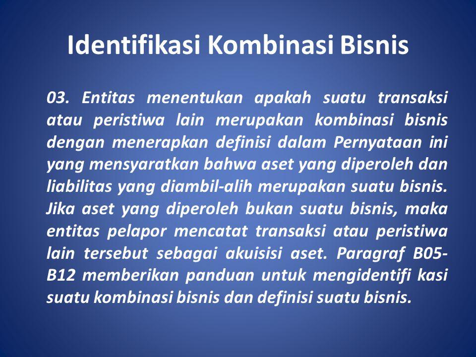 Identifikasi Kombinasi Bisnis