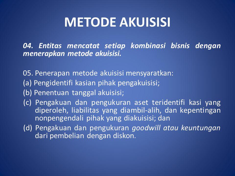 METODE AKUISISI