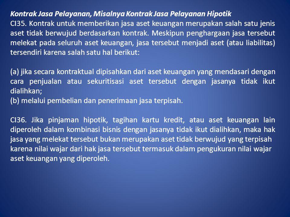 Kontrak Jasa Pelayanan, Misalnya Kontrak Jasa Pelayanan Hipotik