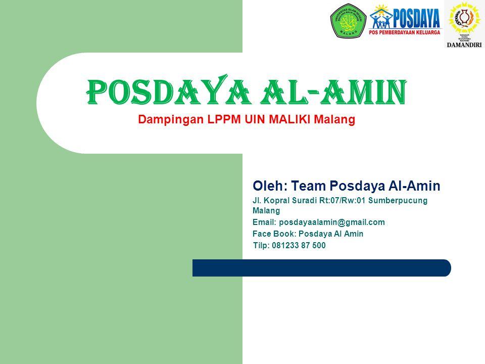 POSDAYA AL-AMIN Dampingan LPPM UIN MALIKI Malang
