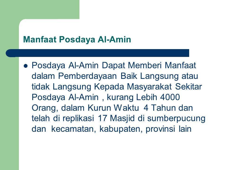 Manfaat Posdaya Al-Amin
