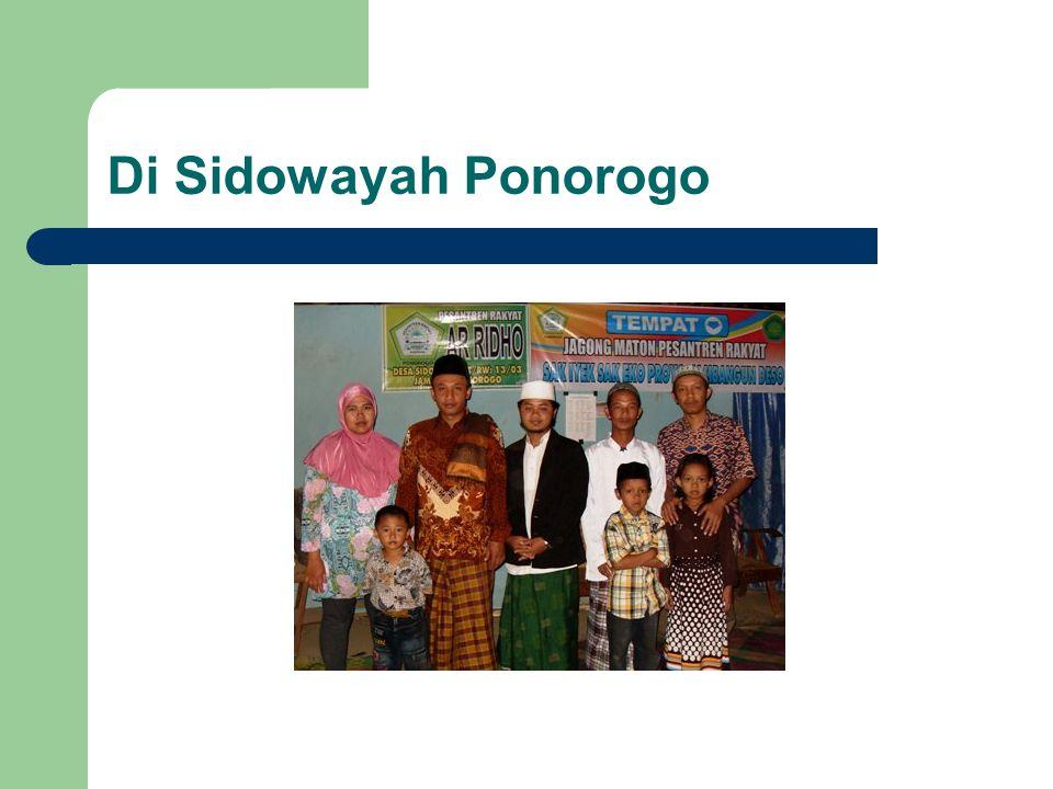 Di Sidowayah Ponorogo