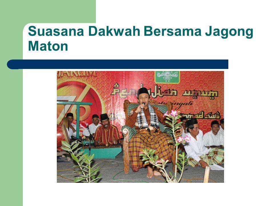 Suasana Dakwah Bersama Jagong Maton