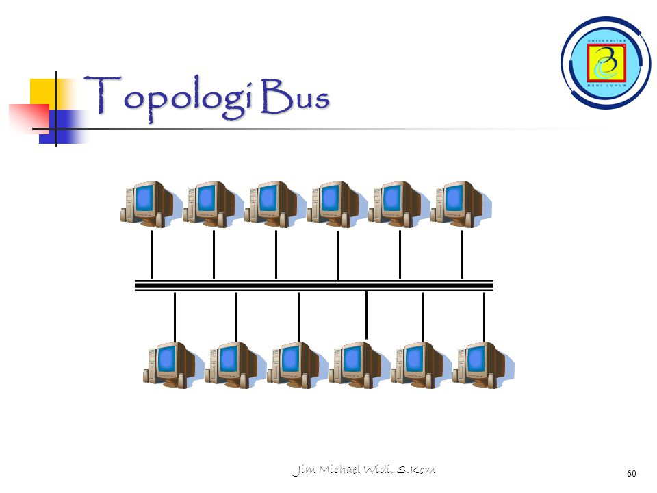 Topologi Bus Jim Michael Widi, S.Kom