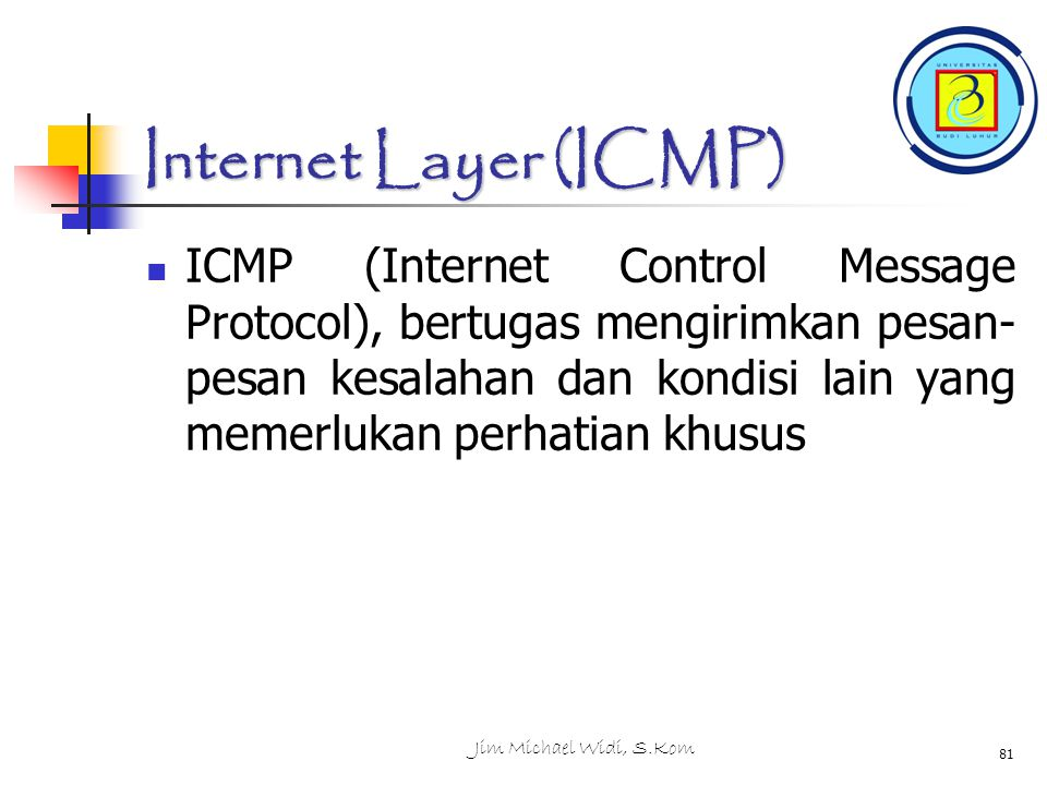 Internet Layer (ICMP)