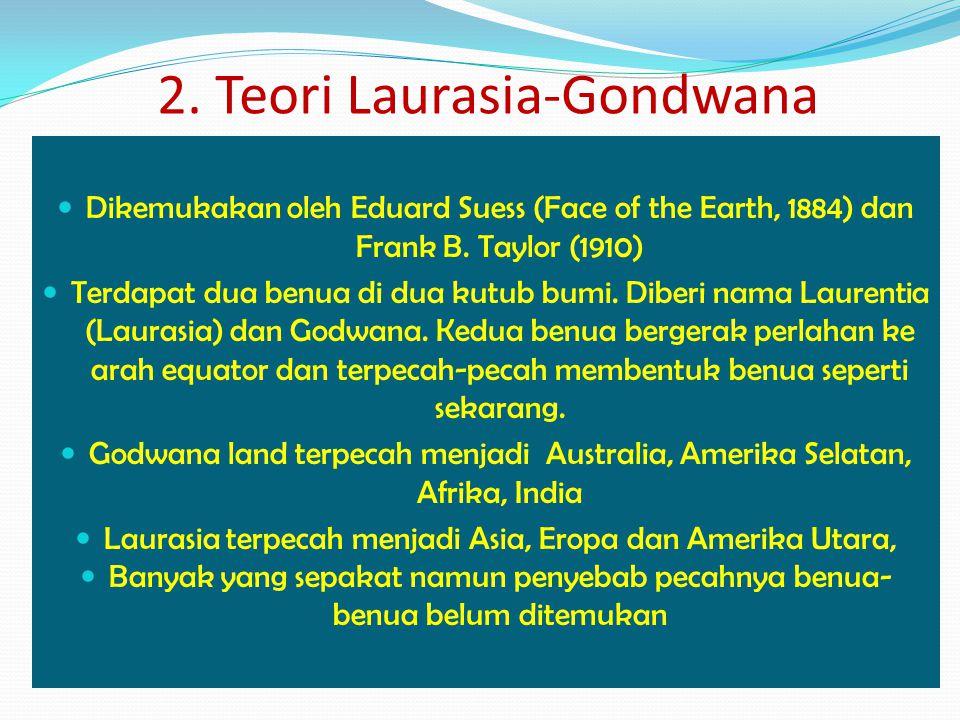2. Teori Laurasia-Gondwana
