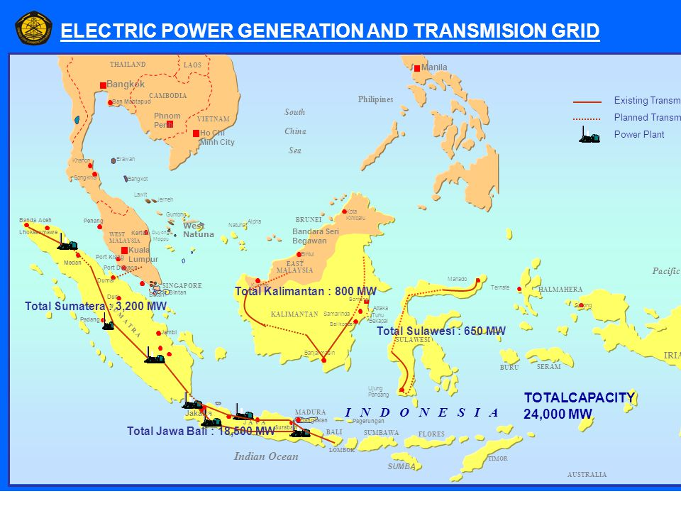 ELECTRIC POWER GENERATION AND TRANSMISION GRID